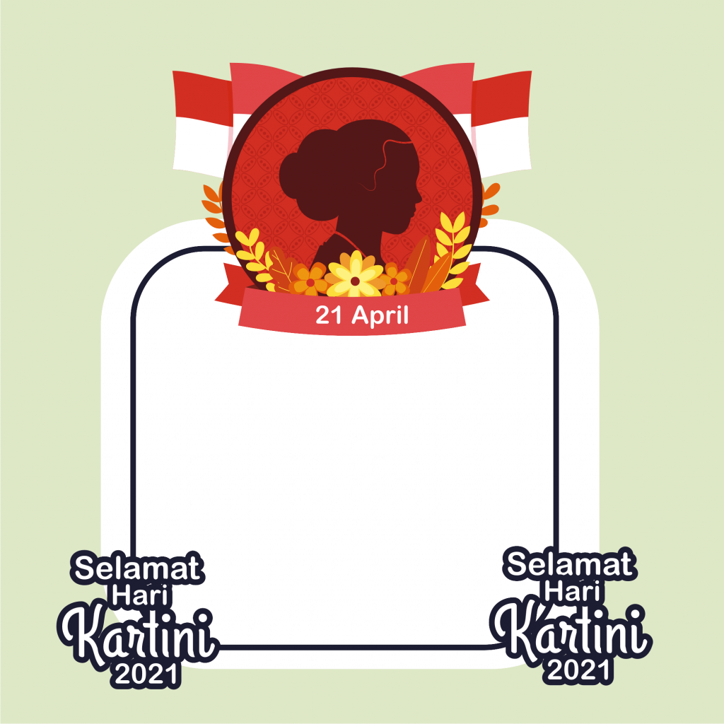 Twibbon Poster Hari Kartini 2021